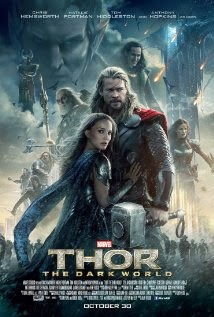 Poster of the characters from Thor: The Dark World