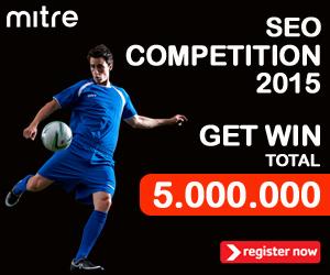 Mitre.co.id Belanja Online Perlengkapan Futsal dan Bola adalah judul artikel yang diperlombakan melalui Kontes SEO 2015 Mitre Indonesia.
