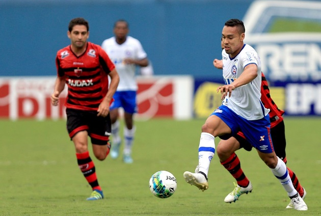 Gols de Oeste 1 x 1 Bahia