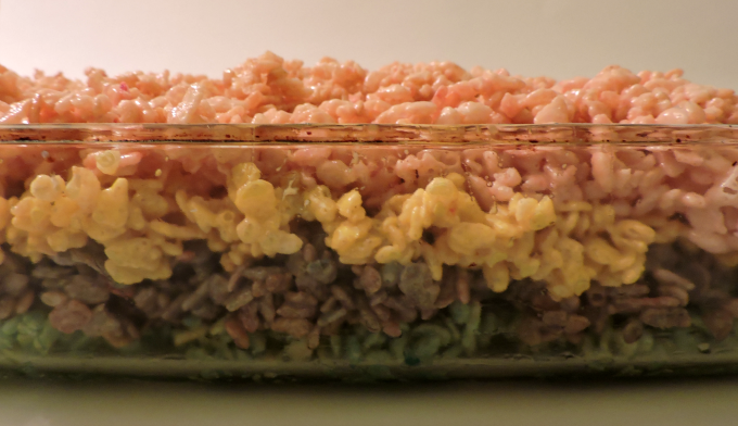 spring rice krispy treats recipe