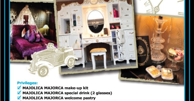 The Stepford Witch: Majolica Majorca Themed Suite Package ...