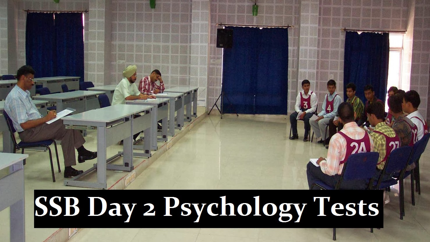 SSB Day 2 psychology tests