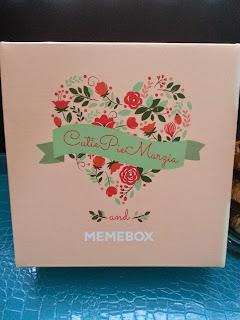 Cutiepiemarzia and Memebox Collaboration box