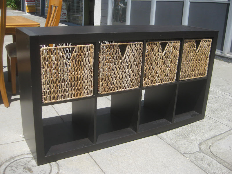 Cube Shelves with Baskets