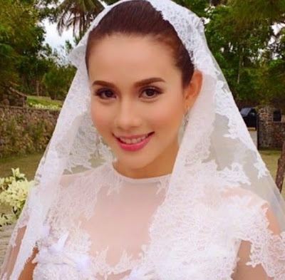 karylle yael wedding makeup, gown design