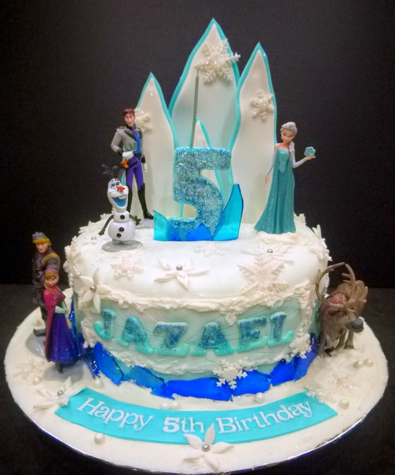 Frozen Cupcake Cake Code F08 pictureFrozen Cupcake Cake