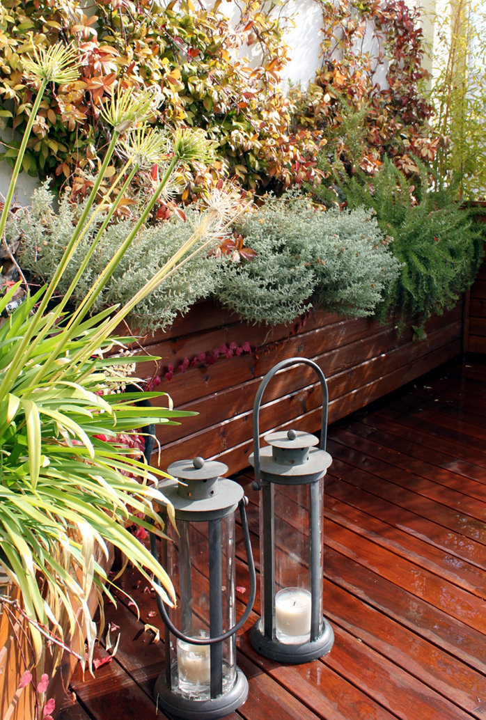 Jardines peque os en terrazas y ticos jardinosfera - Jardines en aticos ...