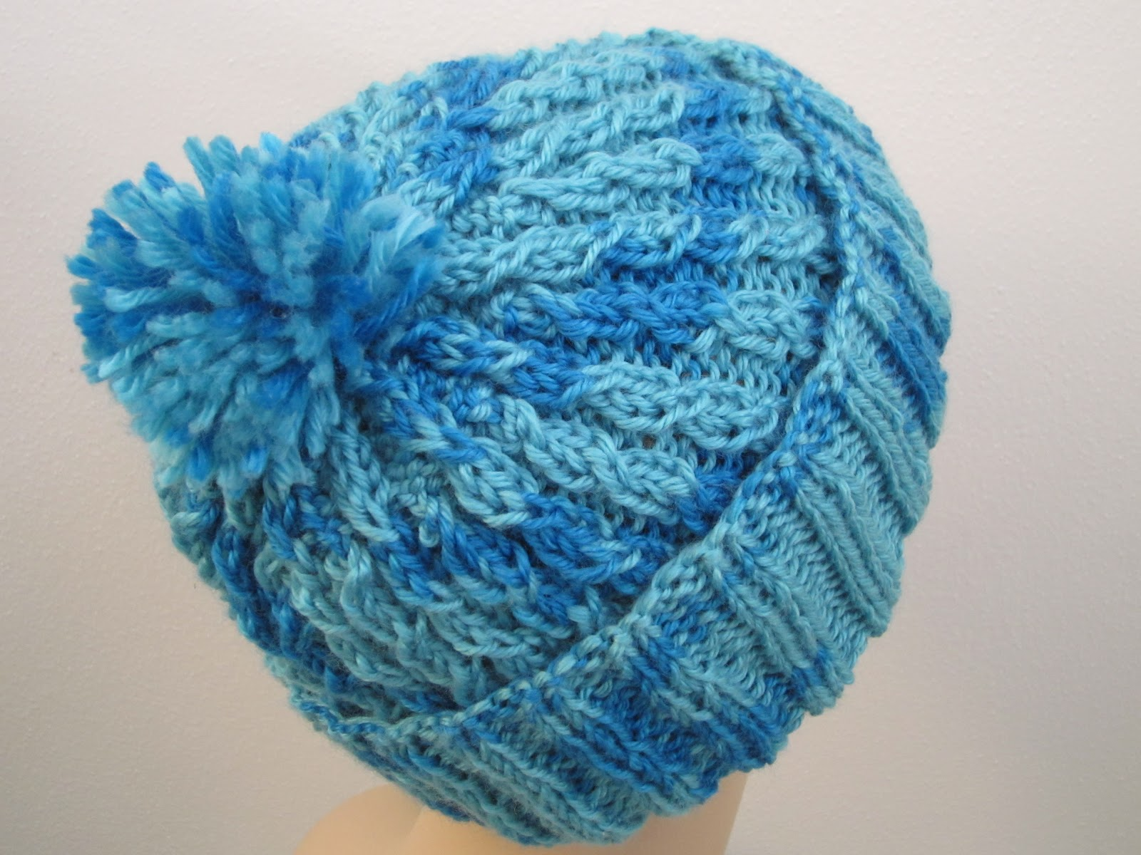 Knitting 4 Stitch Decrease : Balls to the Walls Knits: Slouchy Baby-Cabled Stocking Hat