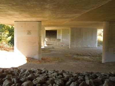 Under the 13th Street Bridge in Paso Robles, 2015, © B. Radisavljevic