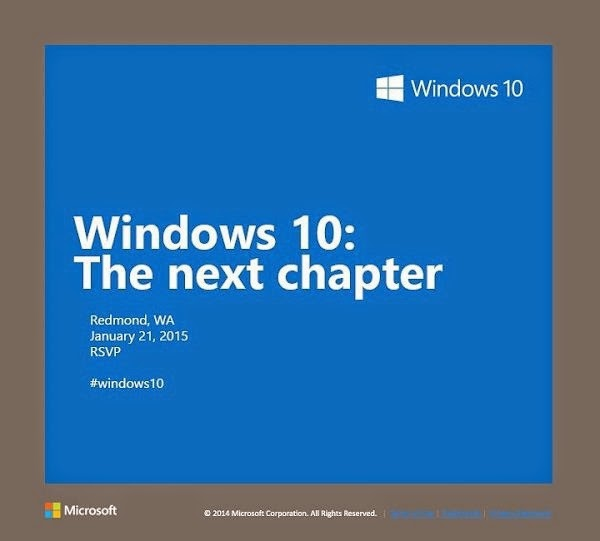 Windows 10 Official Invitation - Technocratvilla