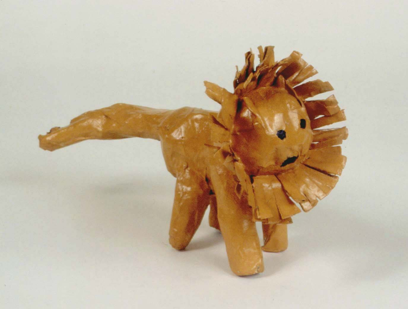 Art for small hands papier m ch animals for How to make a sculpture out of paper mache