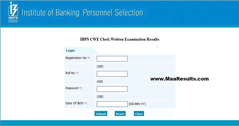 ibps clerk results 2012   ibps in   ibps cwe 2011 exam results