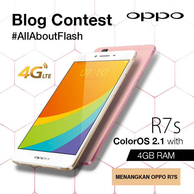 OPPO R7s #AllAboutFlash