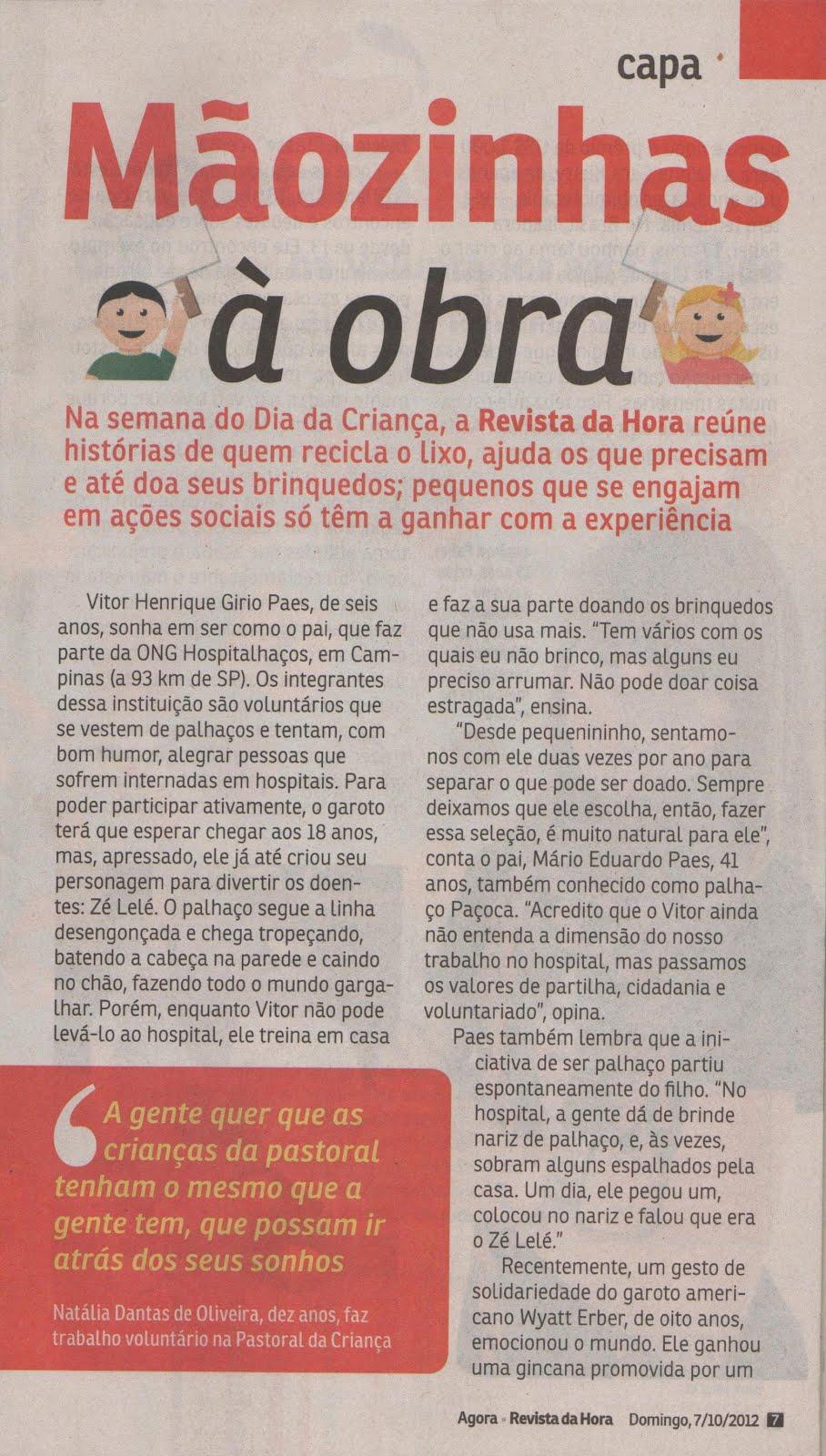 Psicoterapia Infantil - Simone na Mídia