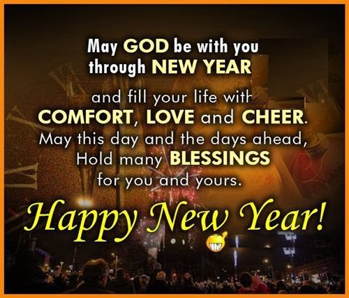 Free New Year Wishes For Christians 2015