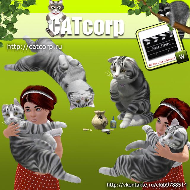 Sims 3 Cat Poses