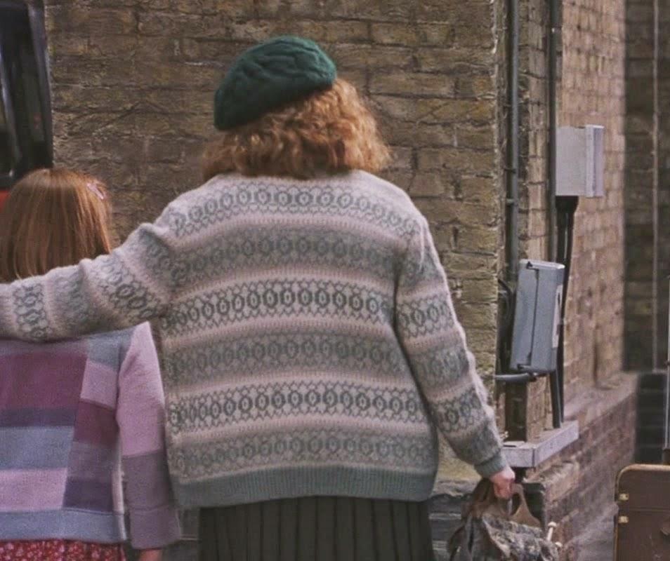 Harry Potter Knits: Molly Weasley\'s King\'s Cross Sweater, Sorcerer\'s ...