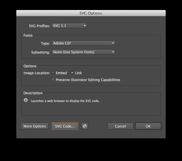 Using SVG