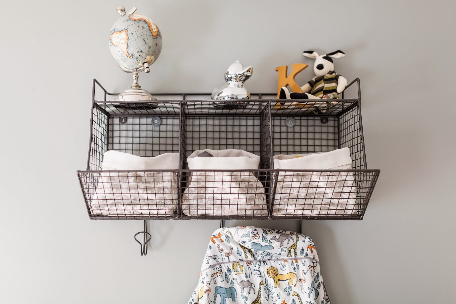 nursery storage baskets