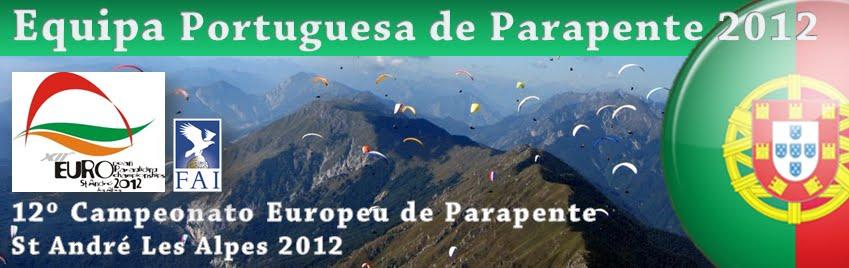 Equipa de Portugal de Parapente 2012