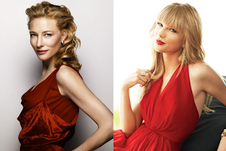 Cate Blanchett and Taylor Swift