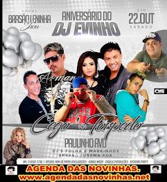 ANIVERSÁRIO DO DJ EVINHO NO BRASÃO LENINHA SHOW.