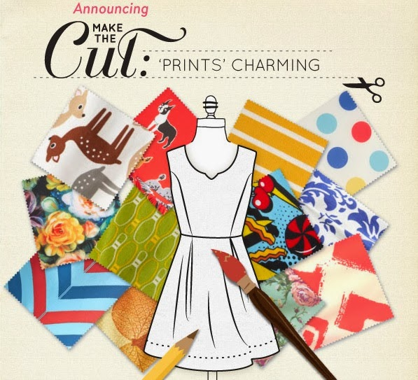 Modcloth contest, Make the Cut, fabric design, fashion design, Air of Adorable dress, fabric swatches