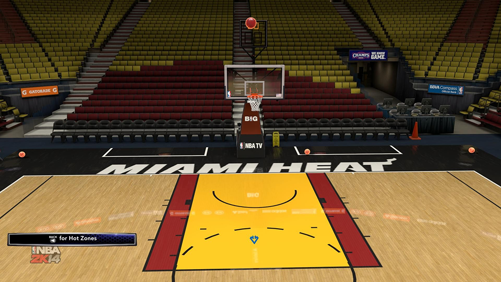 NBA 2K14 Fireball Effect Mod