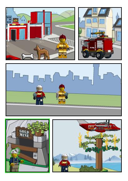 LEGO Comic Builder