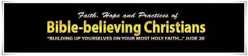 Bible-believing Christians