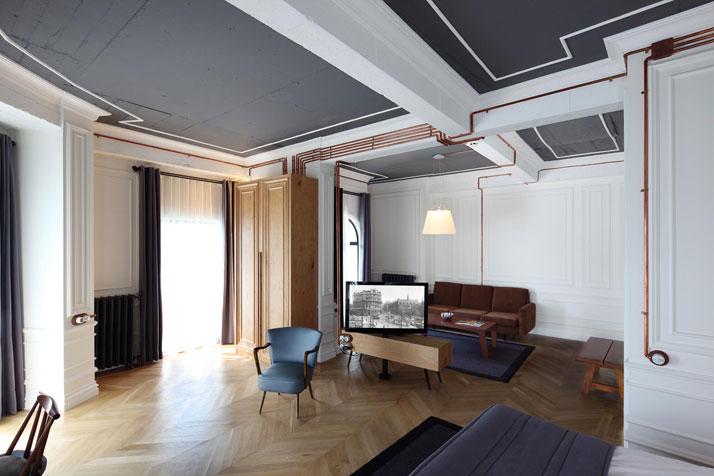 die wohngalerie renovierung stromkabel in kupferleitungen. Black Bedroom Furniture Sets. Home Design Ideas