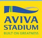Logo, Aviva stadium