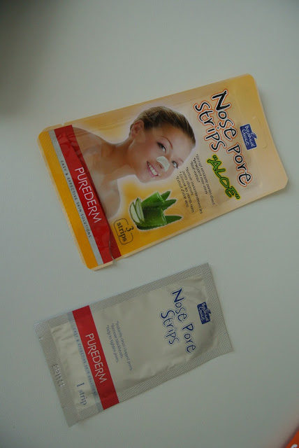"Nose pore Strips "" Aloe"""