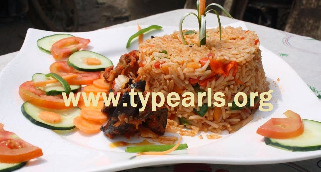 Basmati rice and prawns