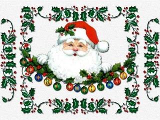 Božićne slike djed Mraz pozadine za mobitele download