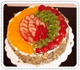 fruit flan