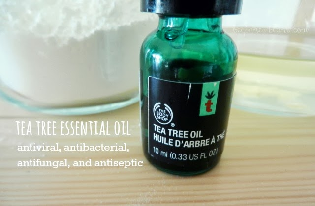benefits of using tea tree in homemade deodorant