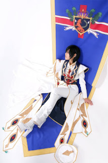 Code Geass Lelouch Lamperouge Cosplay by Tasha 1