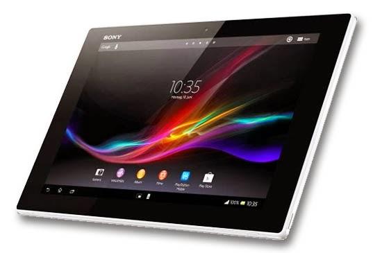 Sony Bakal Luncurkan Xperia Tablet Z2
