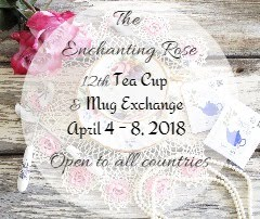 The Enchanting Rose - 12th Teacup & Mug Exchange