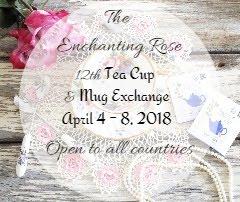 The Enchanting Rose - 12th Teacup & Mug Exchange