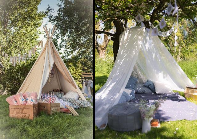 Como crear un rincón chill out infantil para bodas y eventos