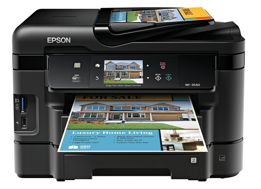 Epson WorkForce WF-3540 Drivers Download