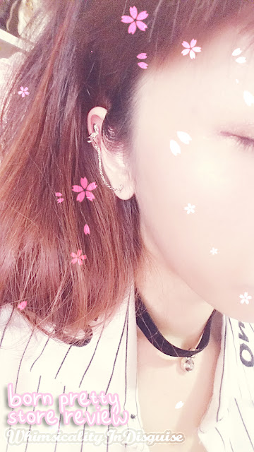 Born Pretty Store earring accessory review