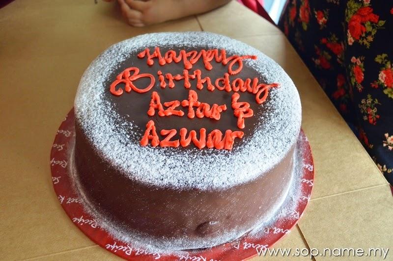 Sambutan Hari Lahir Azfar dan Azwar