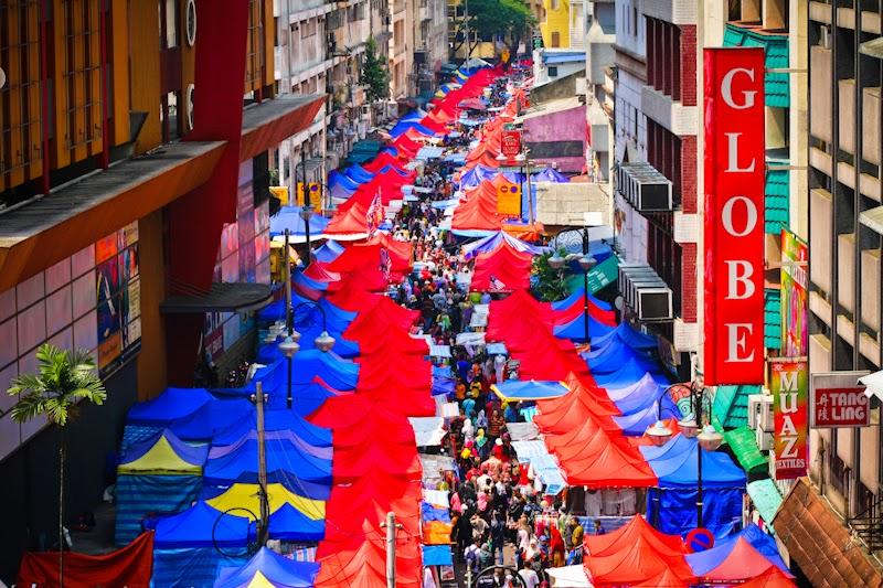 شارع توانكوا فى ماليزيا