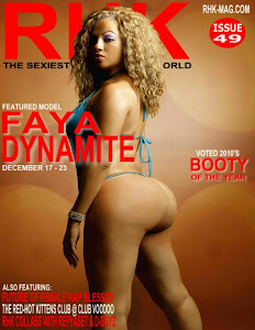 Faya Dynamite Feature Cover Model  On RHK.COM