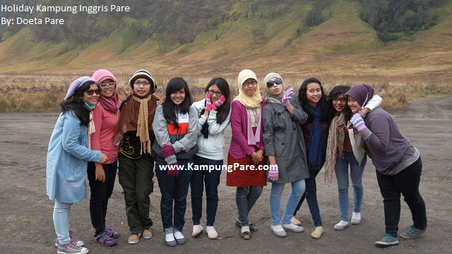 Praktek Speaking di Bromo