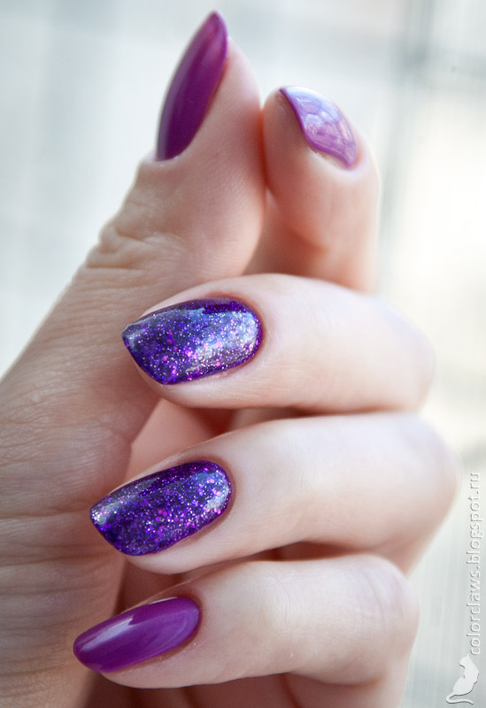 Models Own Amethyst  + Bell Fashion Color #319