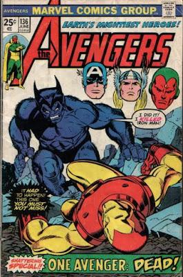 Avengers #136, the Beast